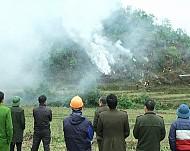 Huyện Sapa Tổ Chức Diễn Tập Phòng Chống Cháy Rừng