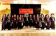 Người Nùng Mường Khương, Lào Cai: sôi động cùng lễ hội Tết tháng 7