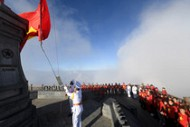 Sun World tổ chức lễ thượng cờ trên đỉnh Fansipan