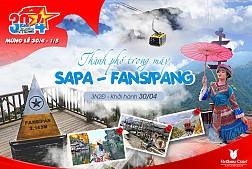 Tour Du Lịch Sapa - Fansipan dịp lễ 30 Tháng 4