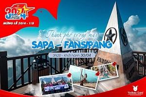 Tour Du Lịch Sapa:  Hà Nội - Sapa - Hàm Rồng - Lao Chải Tả Van - Fansipan Dịp Tết Dương Lịch 2019