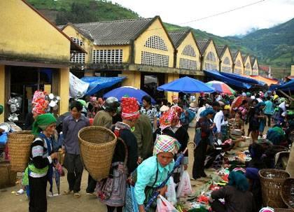 Chợ Phiên Mường Hum Sapa,Cho Phien Muong Hum Sapa