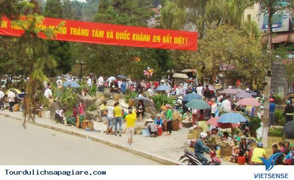 Du khách tăng cao trong dịp lễ tại Lào Cai