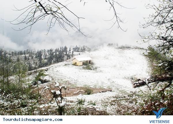 Du lịch Sapa ngắm mưa đá tuyết rơi đầu xuân