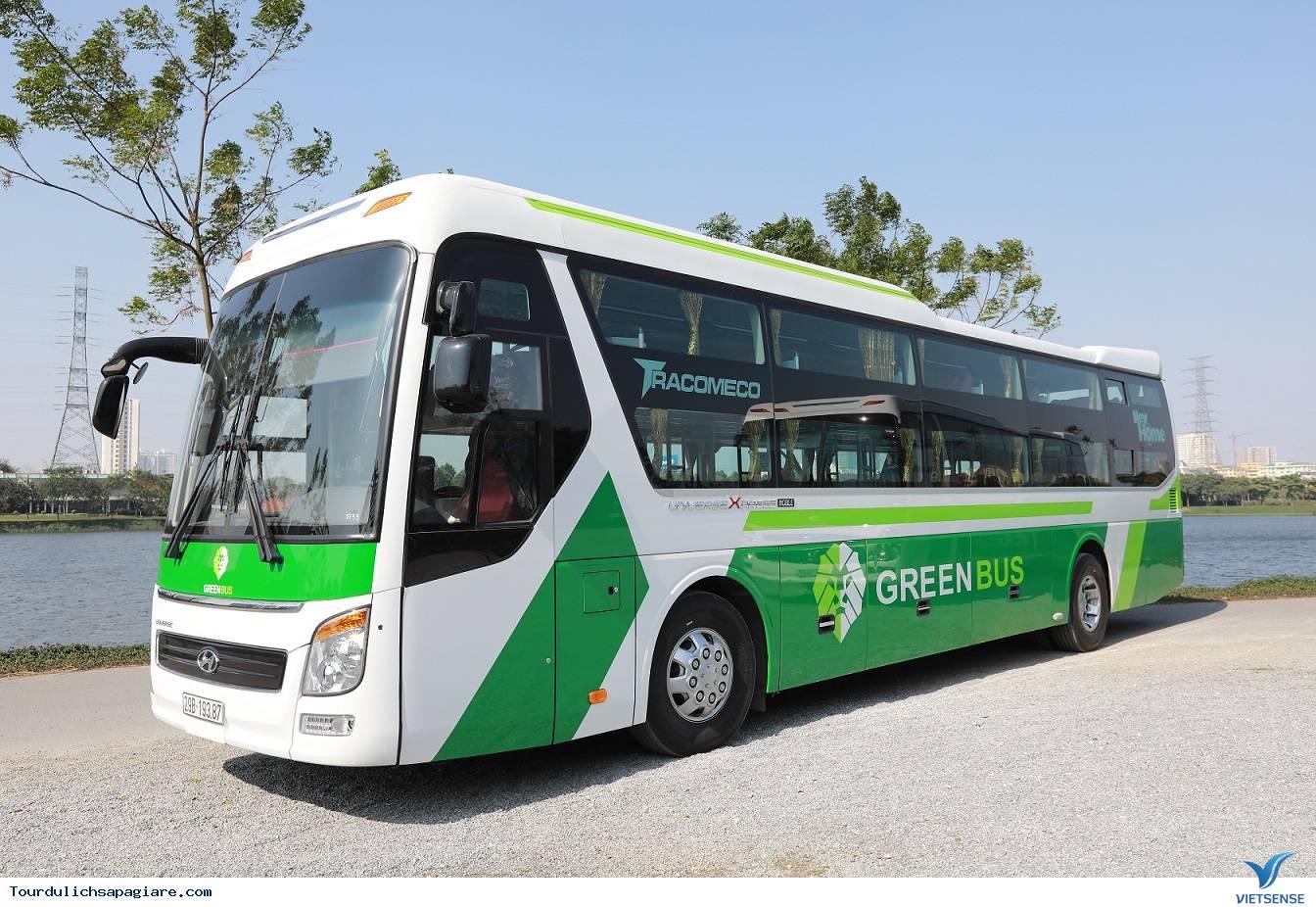 Xe Du lịch Sapa chất lượng cao Green Bus